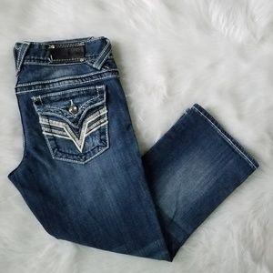 💖 Vigoss New York Jean Capris Cropped Jeans 1/2